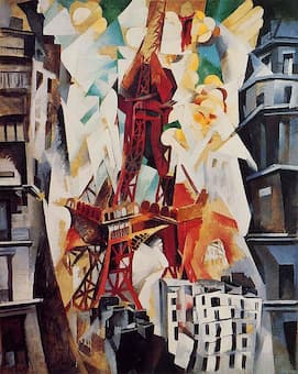 Delaunay: Champs de Mars: The Red Tower