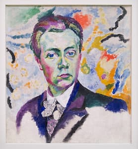 Delaunay: Self-portrait