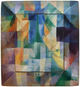 Delaunay: Simultaneous Windows on the City, 1912