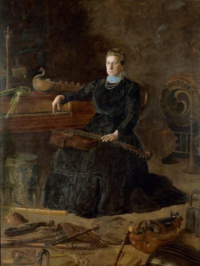 Thomas Eakins: Antiquated Music (Portrait of Sarah Sagehorn Frishmuth), 1900 (Philadelphia Museum of Art)