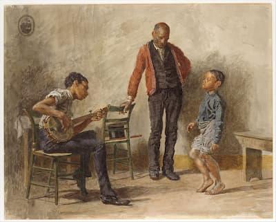 Eakins: The Dancing Lesson, 1878 (Metropolitan Museum of Art)