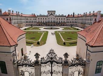 The Esterházy castle