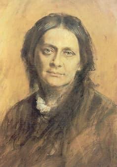 Franz von Lenbach: Clara Schumann