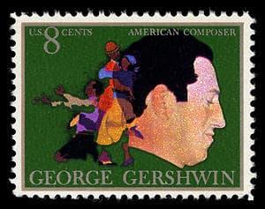 George Gershwin USPS stamp