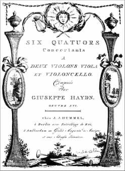 Haydn: Sun Quartets, Op. 20