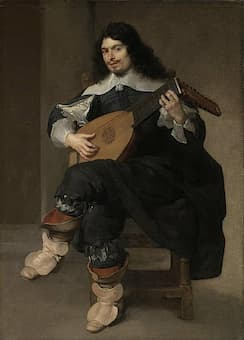Jean de Reyn: The Lute Player (Jacques de Gallot) (ca. 1640) (Boston: Museum of Fine Arts)