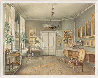 The music room of Fanny Mendelssohn-Hensel