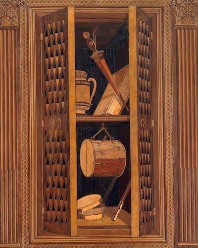 Panel 10, Detail, ca. 1478-1482 (Metropolitan Museum of Art)