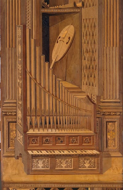 Panel 5, Detail, ca. 1478-1482 (Metropolitan Museum of Art)