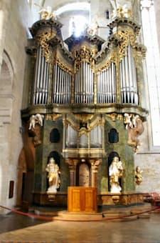 Organ at Heiligenkreuz Monastary