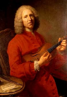 Aved (attib.): Jean-Philippe Rameau