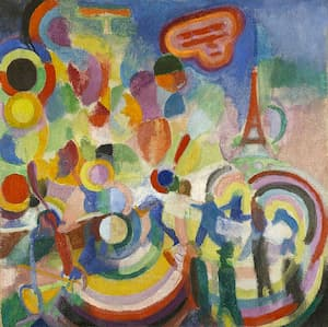 Delaunay: Hommage to Blériot
