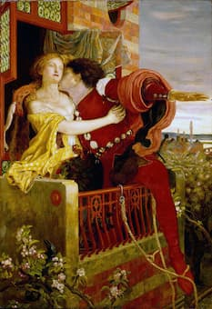 Ford Madox Brown: Romeo and Juliet