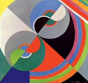Sonia Delaunay: Rhythm Colour no. 1076, 1939