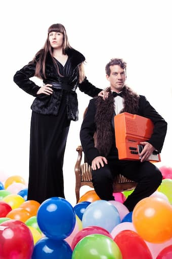 Stephanie Szanto and Simon Bucher