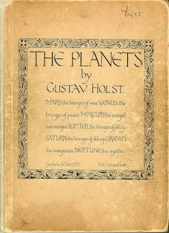 Gustav Holst: The Planets (First Edition)