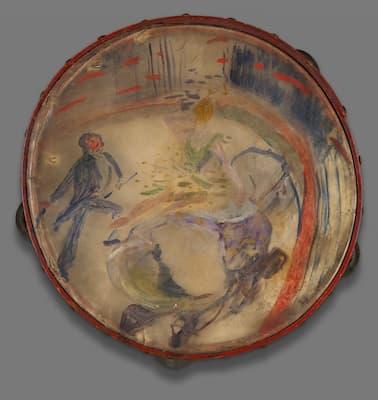 Toulouse-Lautrec: At the Circus: The Bareback Rider (Au Cirque: Écuyère), 1888 (Art Institute of Chicago)