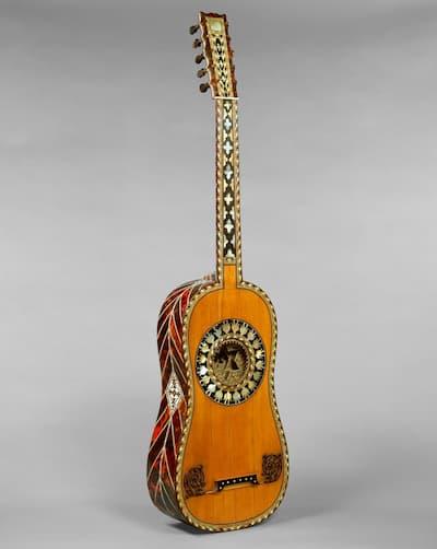 Voboan (attributed to): Guitar, 1697 (Metropolitan Museum of Art)