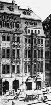 Zimmermannsches Kaffeehaus, Leipzig, 1720
