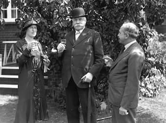Edward Elgar and Caroline Alice Roberts