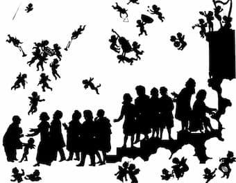 Otto Böhler: Anton Bruckner arrives in heaven
