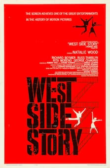West Side Story 1961 film poster