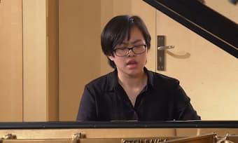 Yuzhang Li at The Leeds International Piano Competition